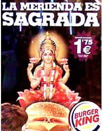 Burger King lakshmi