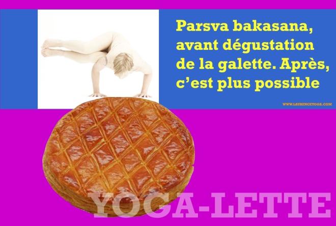 Galette de yoga