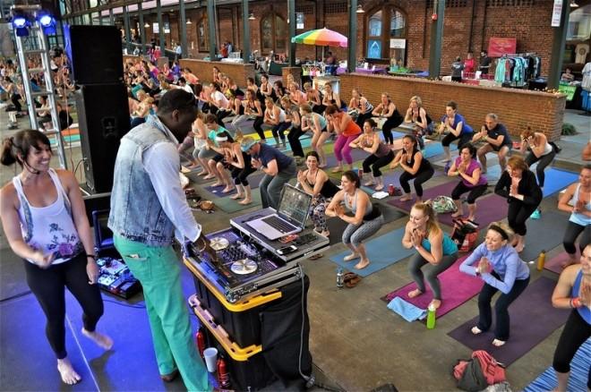 Postandcourier_yoga_event
