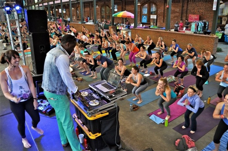 Postandcourier_yoga_event