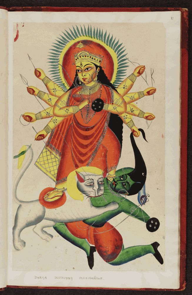 Kalighat_pictures_Indian_gods_f.12